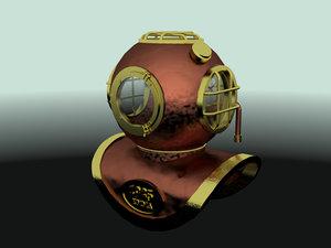 free fbx mode diving helmet