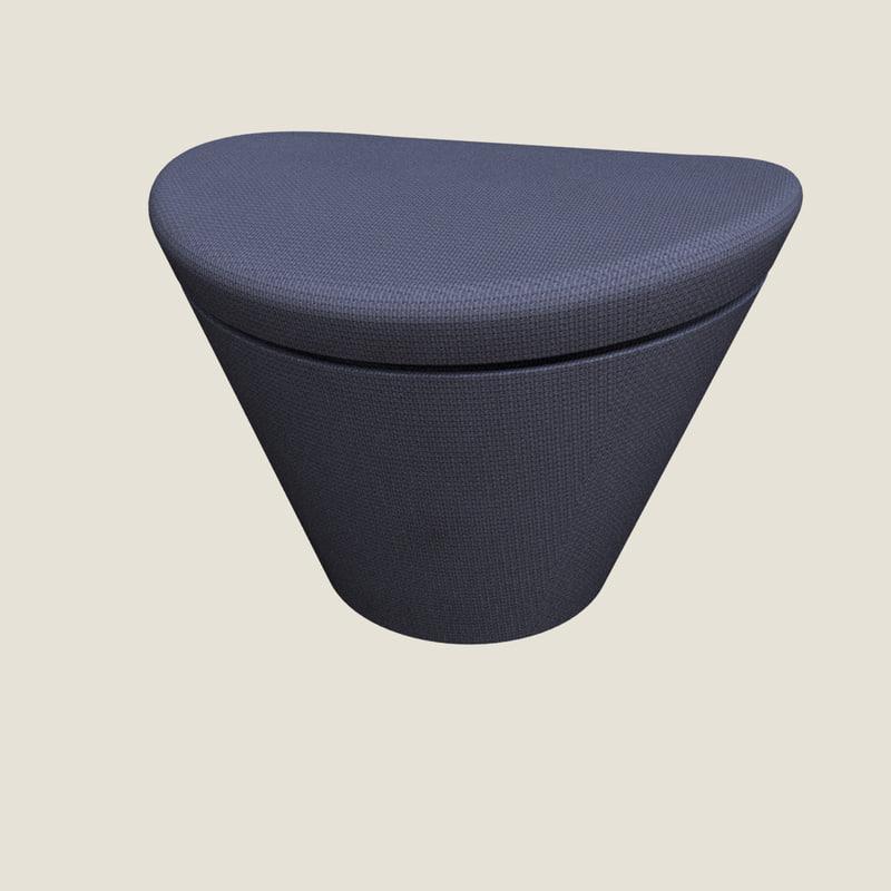 3ds max hugo footrest