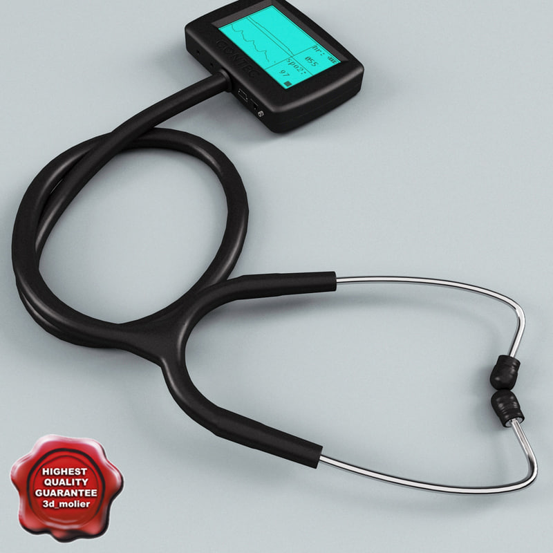 multi fuctioin stethoscope cms-m 3d model