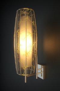 wall lamp blitz leuchten 3d model