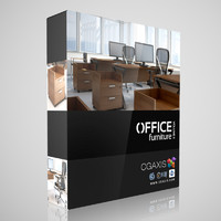 volume 11 office furniture 3d max