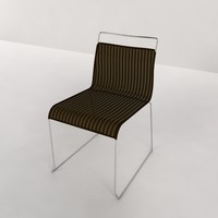chair irony cs 143 3d model