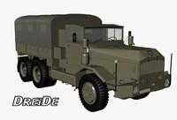 3d faun l908 6x6 1958