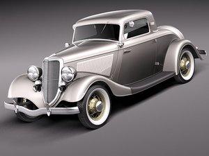 max 1933 1934 stock hotrod