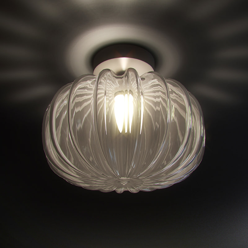 3d model ceiling lamp vistosi diamante