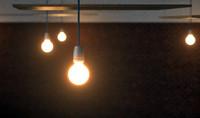 3d nud light bulb model