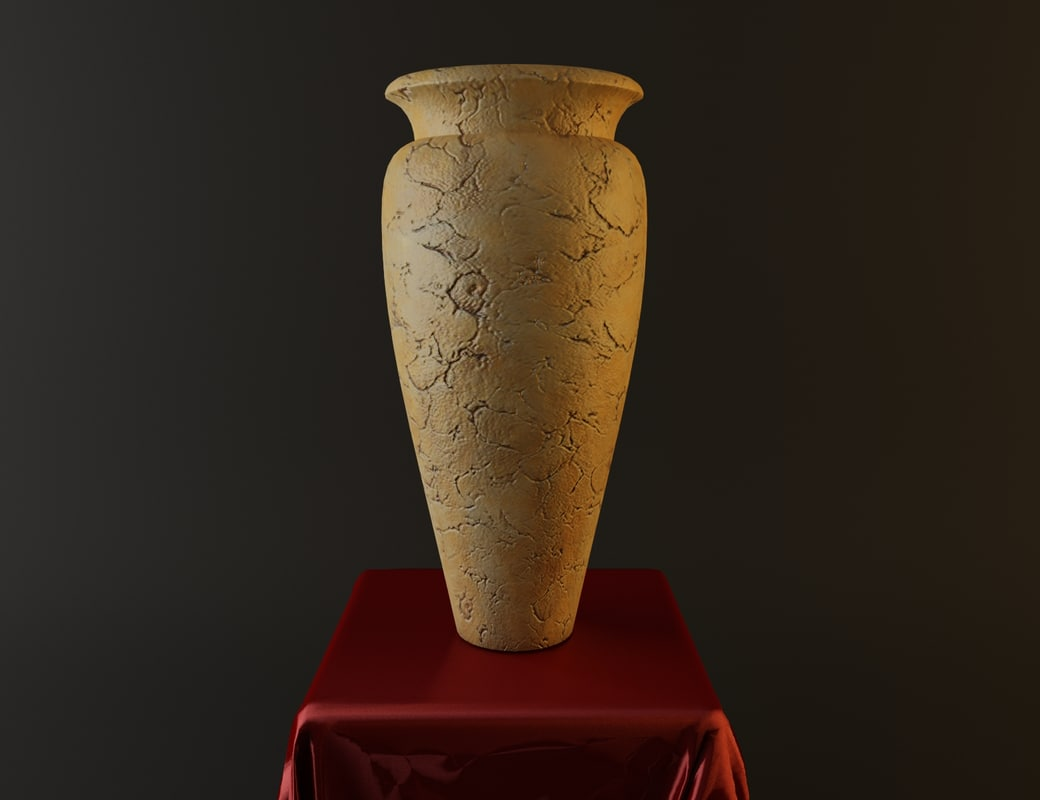 antique vases 3d model