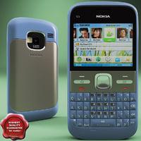 Nokia E5 00 Blue