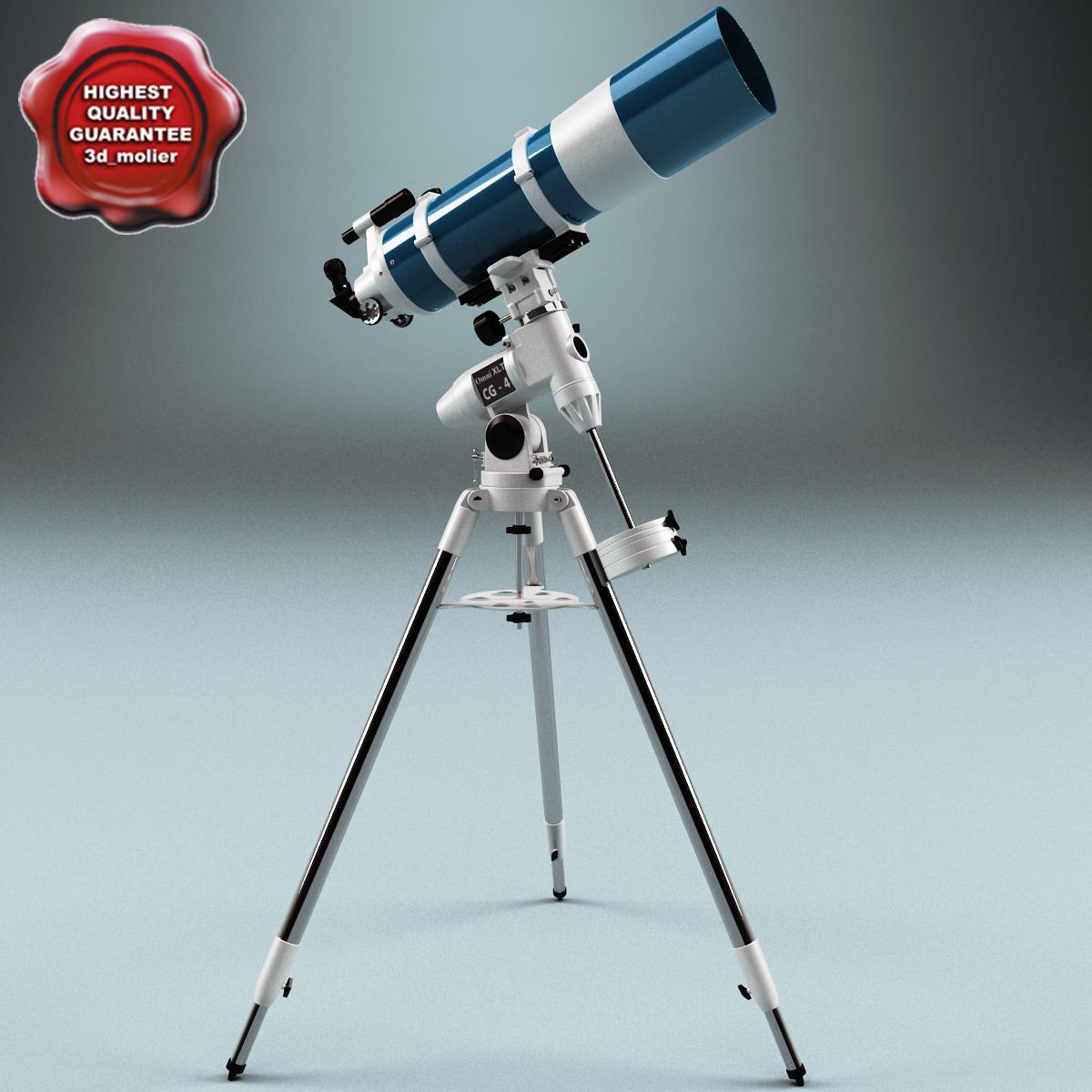 telescope v3 3d model