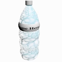 water bottle clear 3ds free