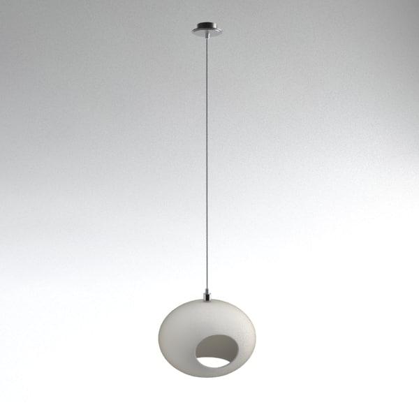 contemporary pendant light 3d model
