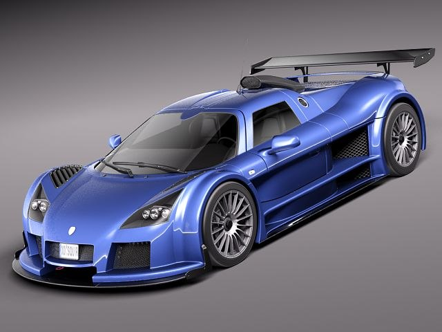 gumpert apollo sport 3d model