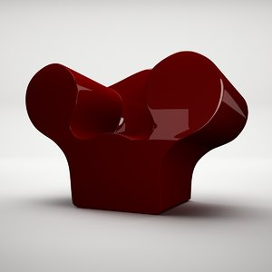 3ds max ron big easy chair