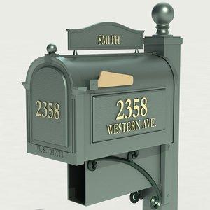 max mailbox mail box