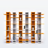 maya modern bookshelf books