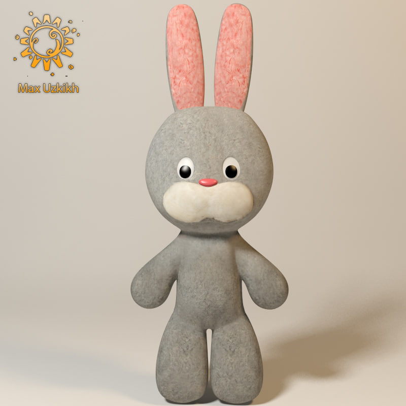 max rabbit soft toy