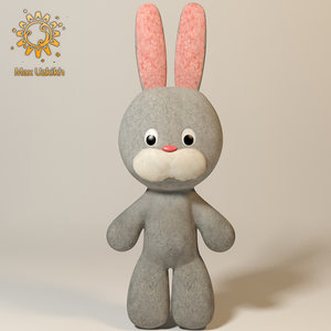 max rabbit soft toy