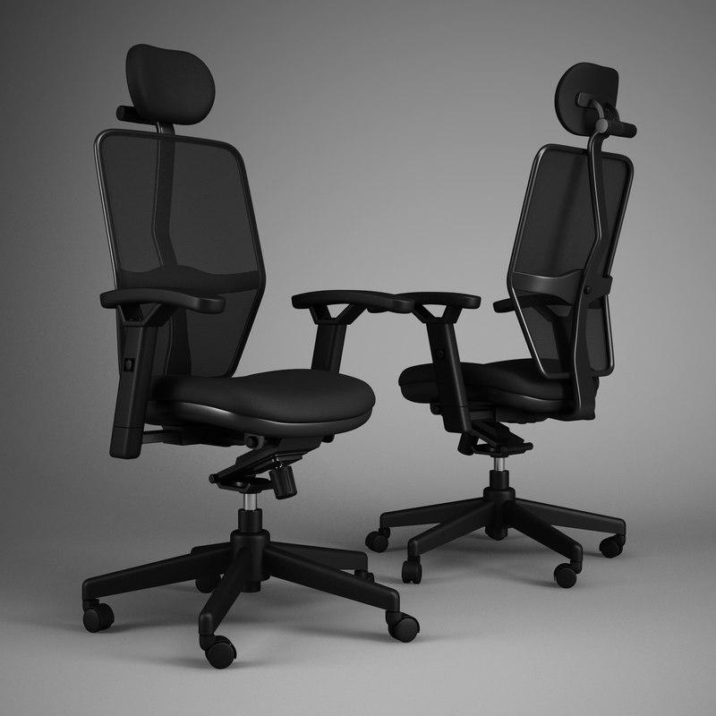 3d office chair 46