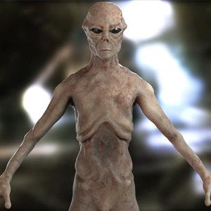 highpoly alien max