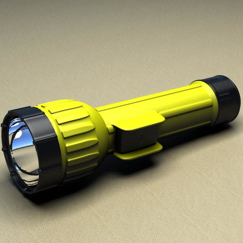 bright star flash light 3d max