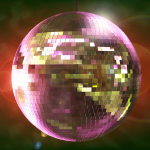 disco ball 3d max