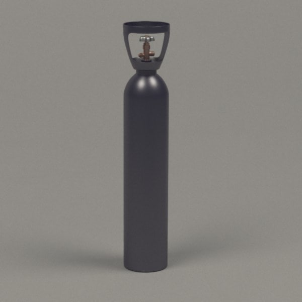 3d model gas container