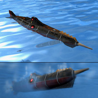 jules submarine 3d 3ds