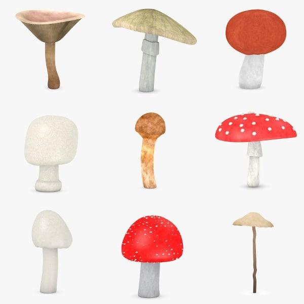 3ds max mushroom poison