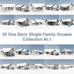 3d 20 story houses