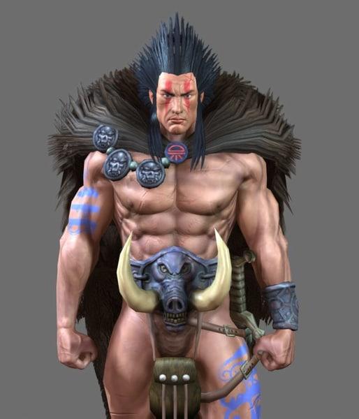 slaine nextgen character 3d model