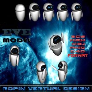 3d model eve design