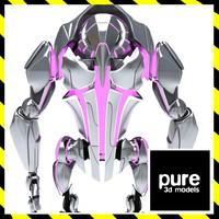 Cyborg robot