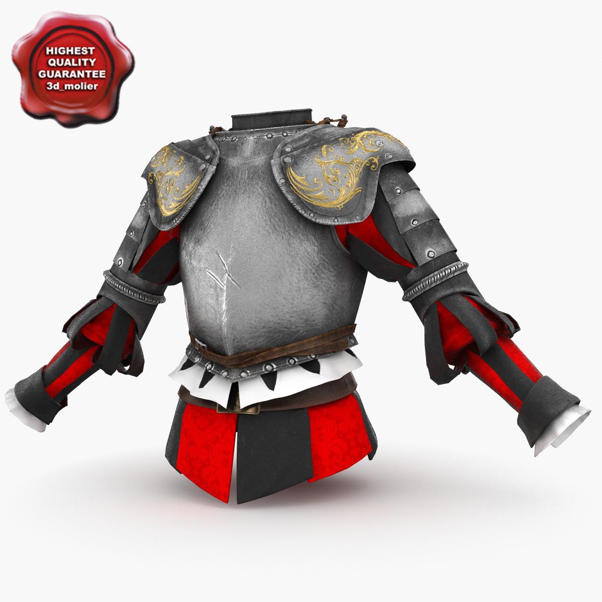 swiss guardsmen armour 3ds