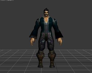 human male 3d model
