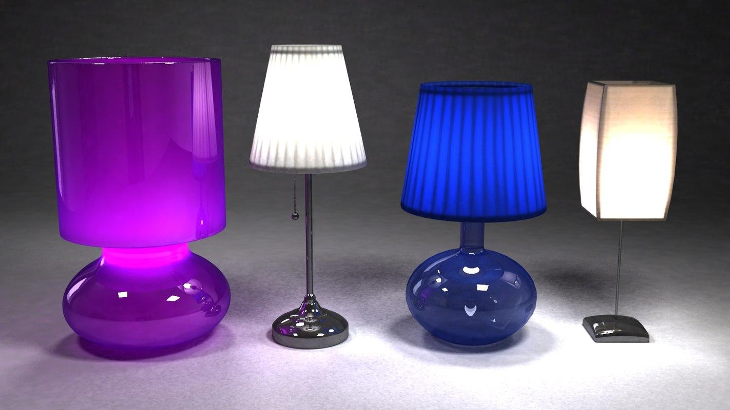 3dsmax ikea lamp light