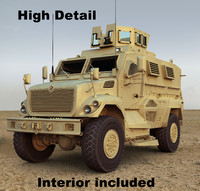 Maxxpro MRAP Vehicle