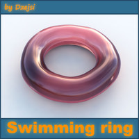 swimming ring 3d model