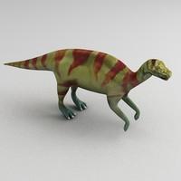 hadrosaur 3d max
