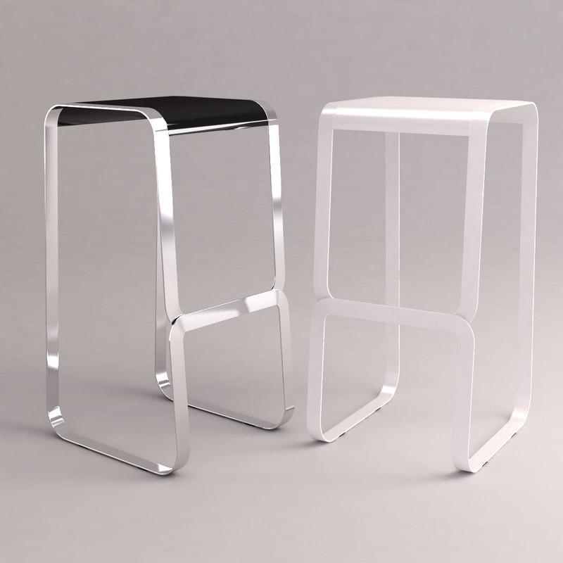 3d continuum stools model