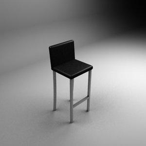 max aluminium bar chair