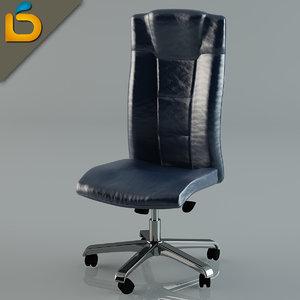 3d model desktop chair