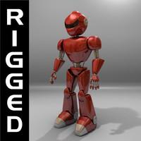 Conqueror Droid Rigged
