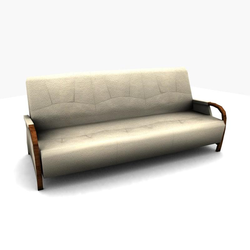 max sofa leather ready