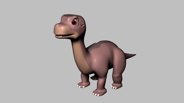 max quadruped little foot rigged