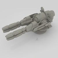 gun sendercorp 3d model