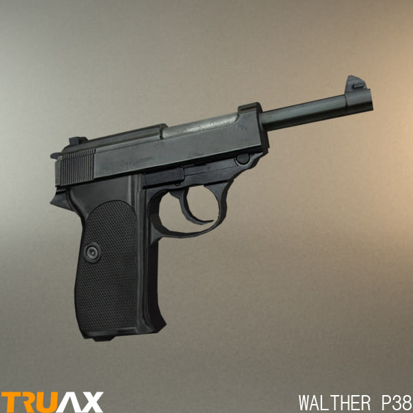 maya walther p38 9mm pistol
