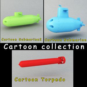 max cartoon submarine