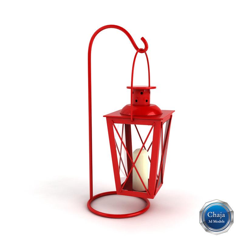 3dsmax lantern lamp light
