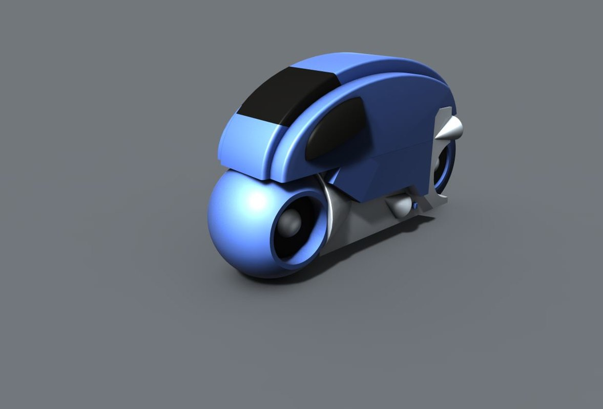 cinema4d old light bike