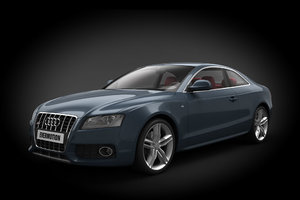 3d model car audi s5